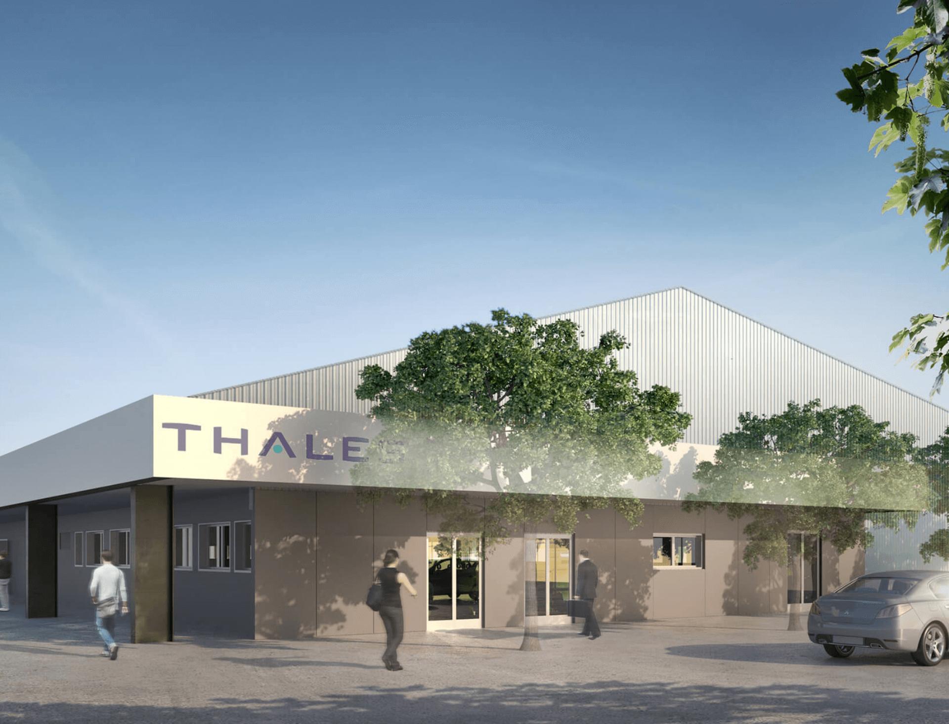 Bâtiment industriel à Valence