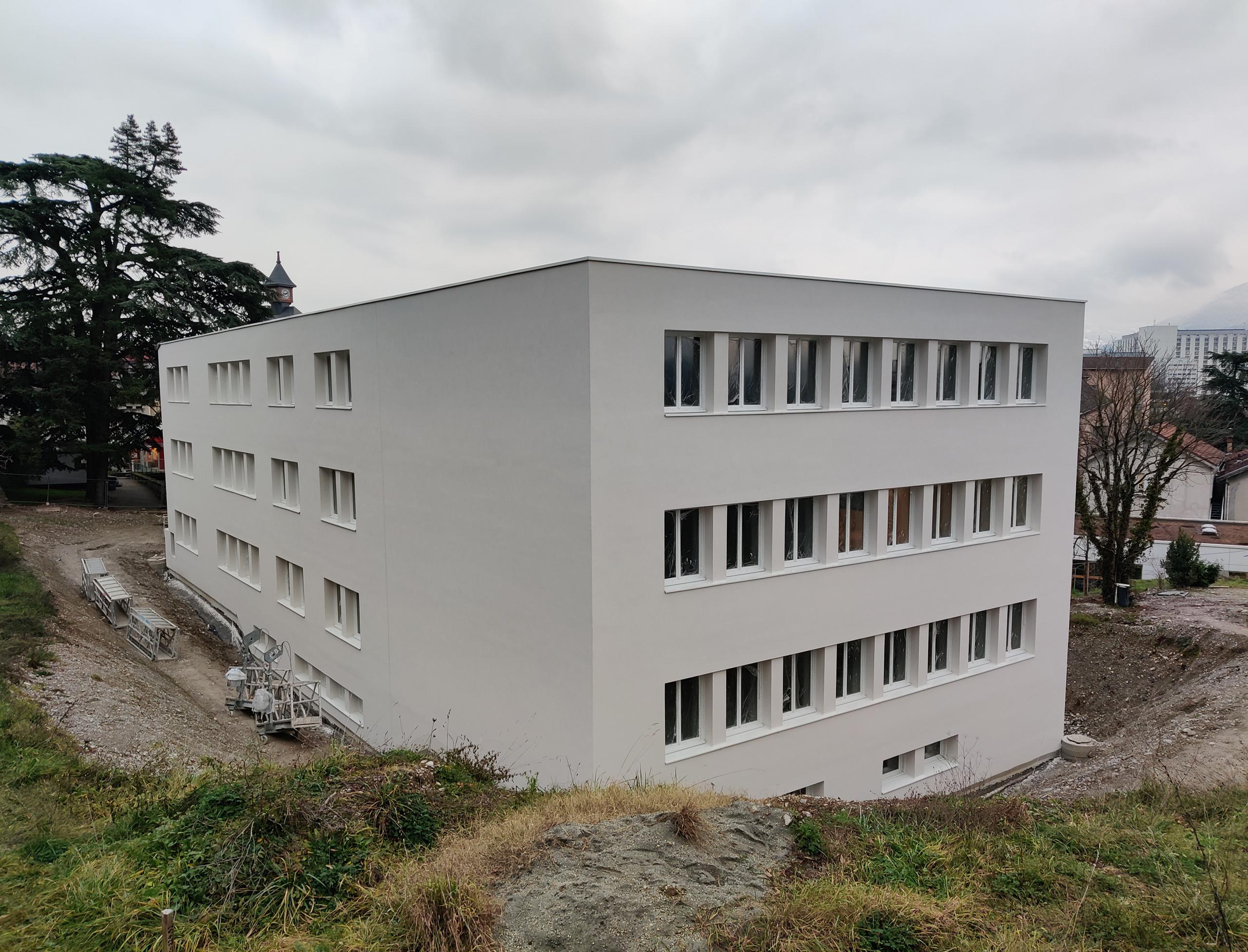 Transformation lycée en campus à La Tronche